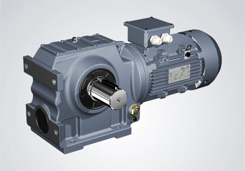 Helical-Worm Gear Reducer